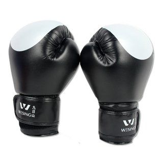 Free shipping New arrival - boxing gloves one piece sanda gloves PU sd10-3 2013 new listing hot