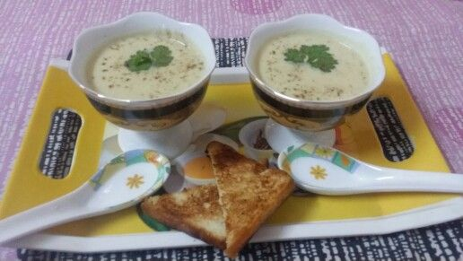 Cauliflower soup..
