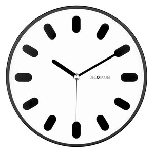 Eclectic Wall Clock White, decomates