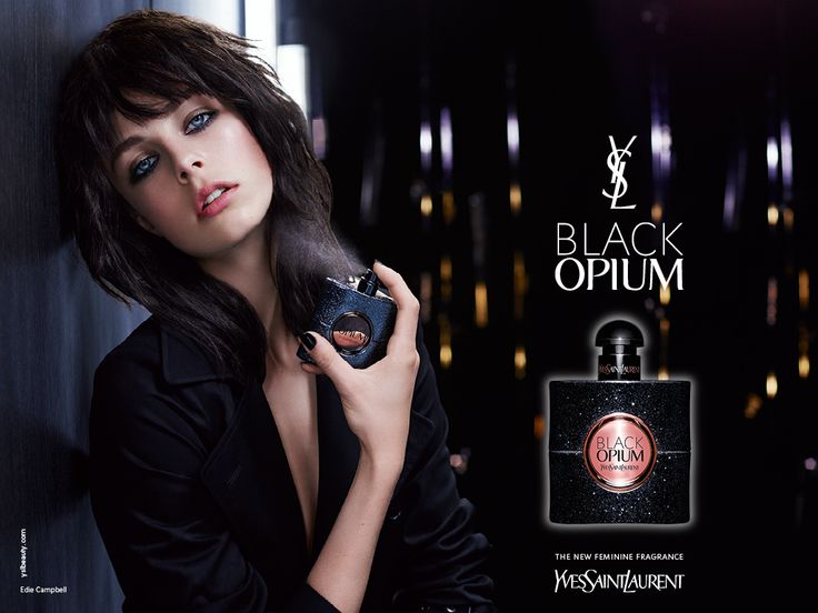 The use of the dark background along with the model's dark hair, makes the product look edgy and dark.