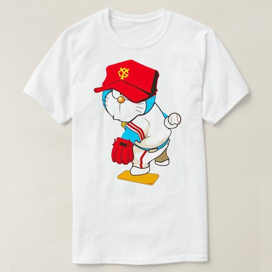 Doraemon Baseball Custom Shirts