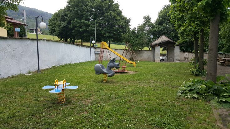 Rifreddo - rinasce il parco Gesia veja #rifreddo #parchigiochi