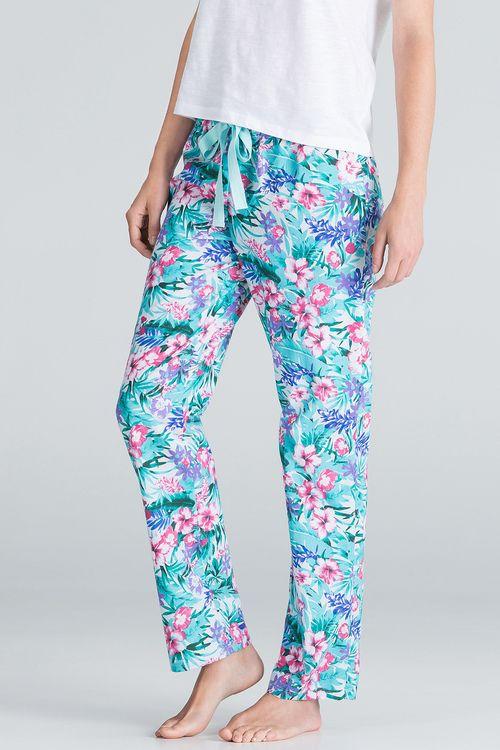 Pantalon à imprimé hawaïen | women'secret