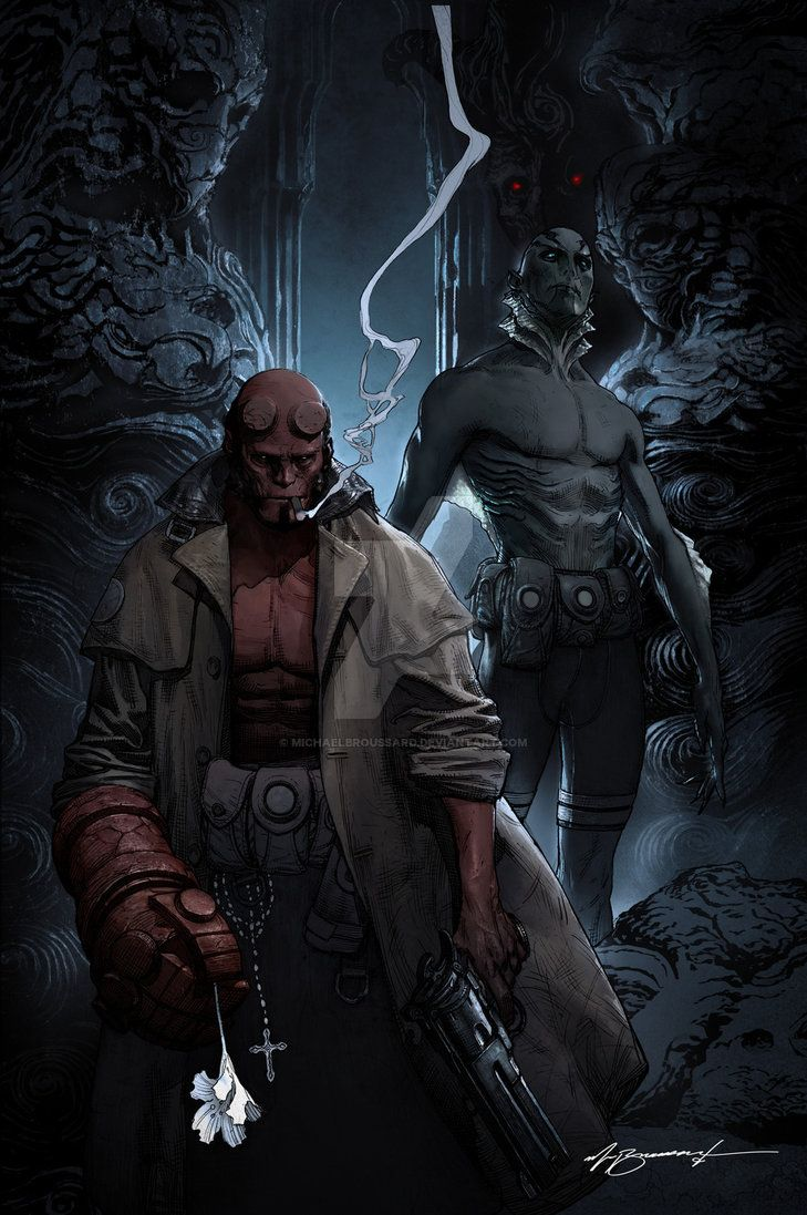 HELLBOY by MichaelBroussard on DeviantArt