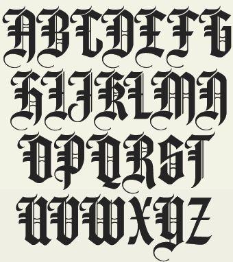 Membrete Fuentes / LHF Hindlewood / Inglés Antiguo Fuentes