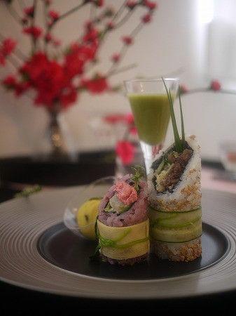 桃の節句・和モダンランチ&テーブルコーディネート の画像|MIKOのインテリア&テーブルコーディネート
