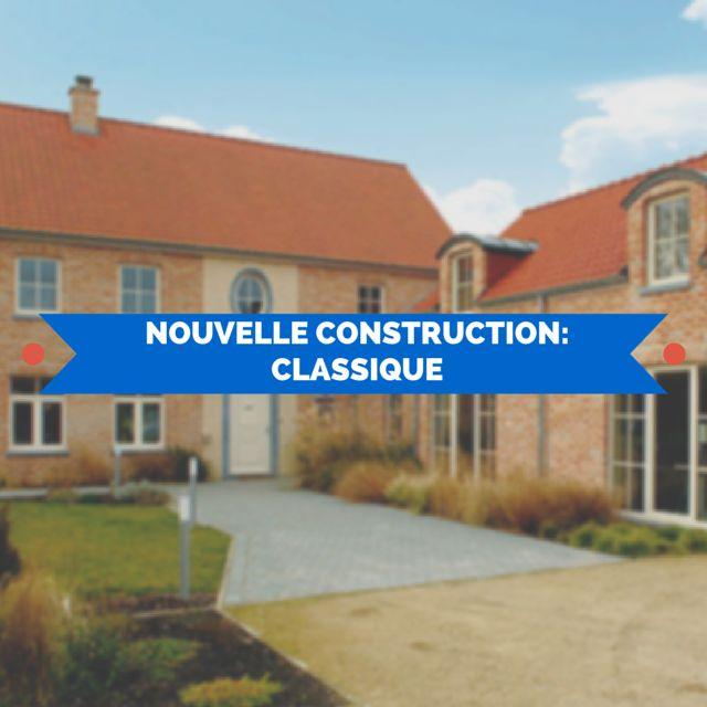 24 best images about nouvelle construction classique for Frais nouvelle construction