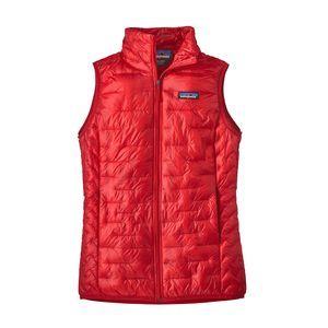 W's Micro Puff® Vest, Maraschino (MRC)