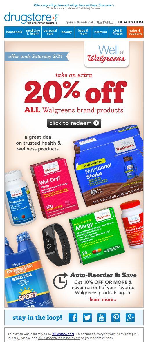 week 29 walgreens sale Beauty vitamins, Health and