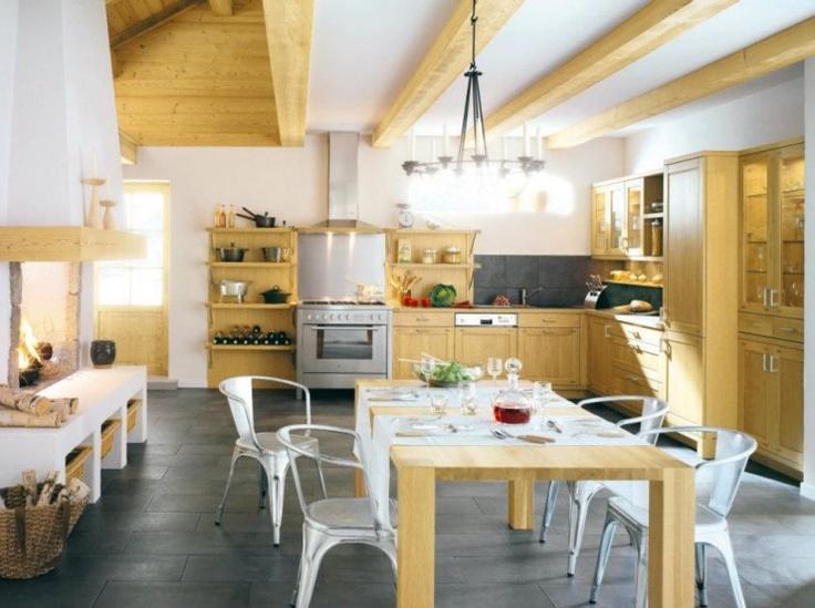 Дизайн Атрактивни кънтри кухни (With images) Kitchen