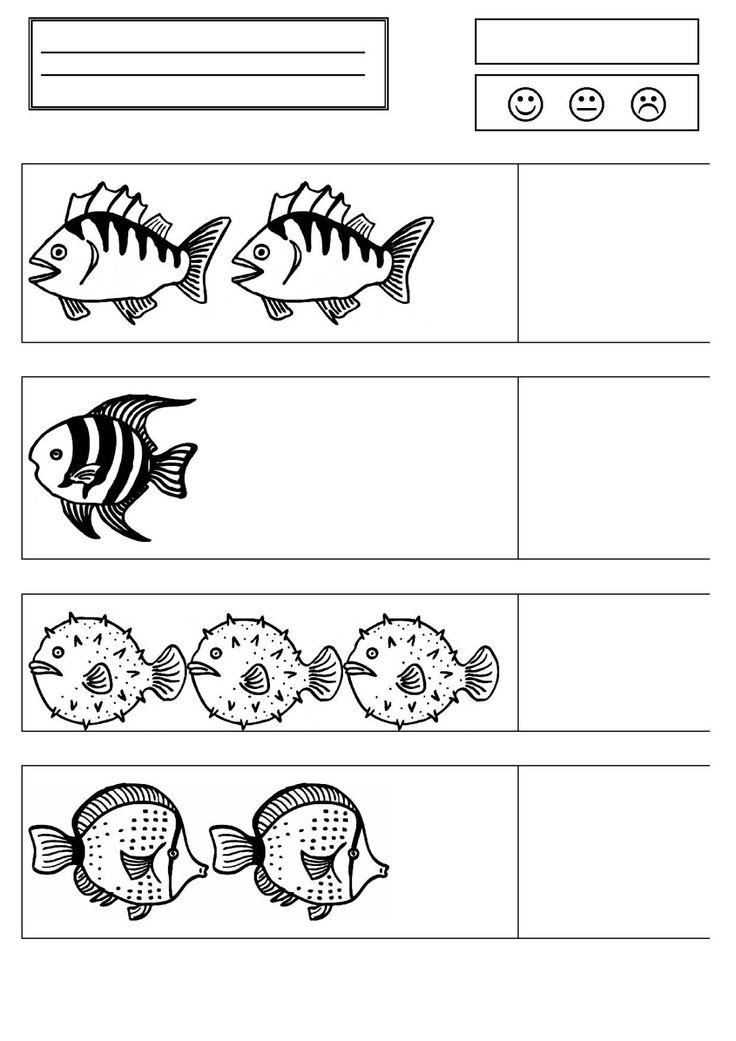 PS graphime poisson retrouver les poissons identiques peinture poisson comptage jusqu'à 3 colorie les instrus les images viennent du site http://crdp.ac-dijon.fr/-Clic-images-.html GS cahier math poisson lexique animaux marins à partir des animaux de...