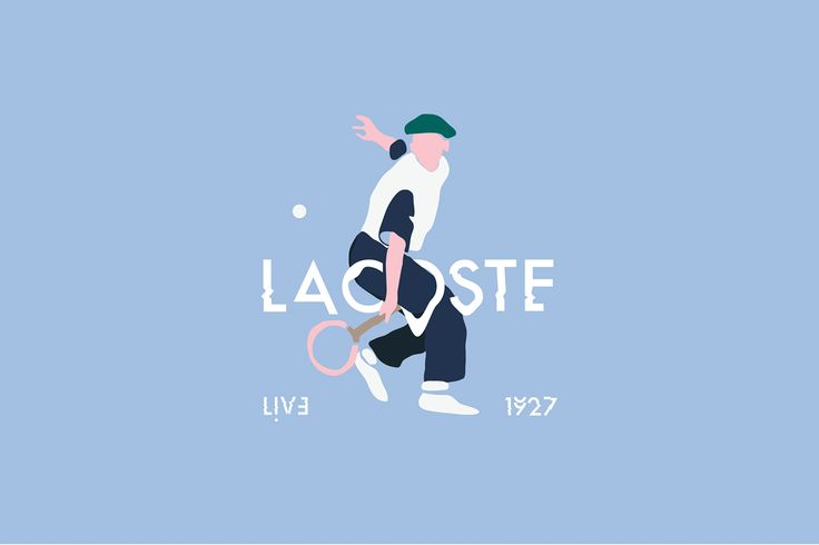 Lacoste Live - tshirt design on Behance