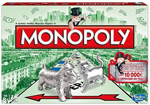 Hasbro – 94470 – Monopoly Classique – Operation Carte de crédit