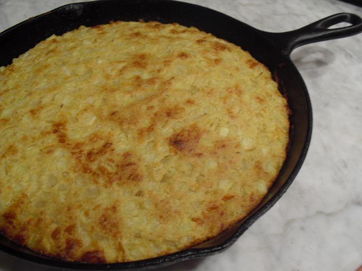 Cornbread Recipe with Corn & Honey (Low-Fat)
