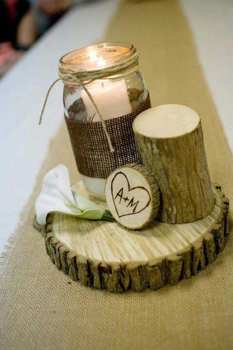 This is one of my picks for a center piece ! I would be able to use sticks - stumps- and out door supplies from around Invermere and it would be very cost effective !!!!