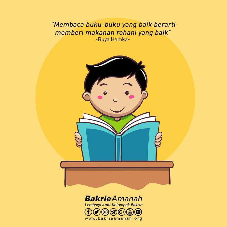 Mari Membaca Buku  #bakrieamanah