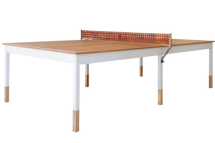 BDDW's cherry-and-maple Ping-Pong table.