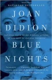 Book with a blue cover.