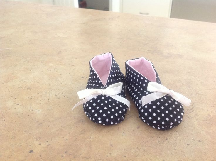 Shoes made for miss Lexi when she was born