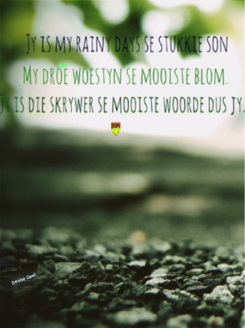 Adam tas se rainy days- Subscribe vir nog afrikaanse woorde, liedjies, se goed en bybelversies =)