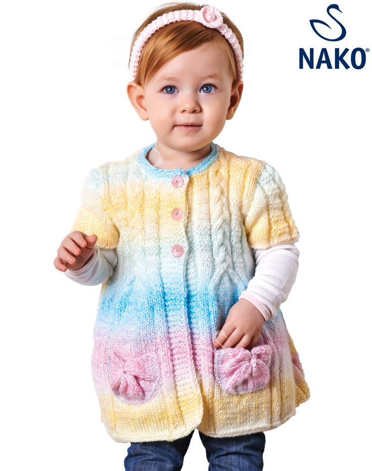 CM-039 Baby Angel Yelek / / Bebek-Çocuk / MODELLER / Nako
