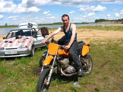 Мотоцикл Иж юпитер 5. кросс, эндуро, кастом, переделанный, переделка.
