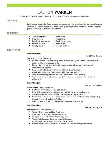 Resume Examples Hospitality #examples #hospitality #resume