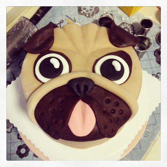 Pug Dog Cake Images : Best 25+ Pug cake ideas on Pinterest Pug birthday cake ...
