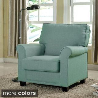 Shop for Furniture of America Charmayne Padded Linen Arm Chair. Get free shipping at Overstock.com - Your Online Furniture Outlet Store! Get 5% in rewards with Club O!