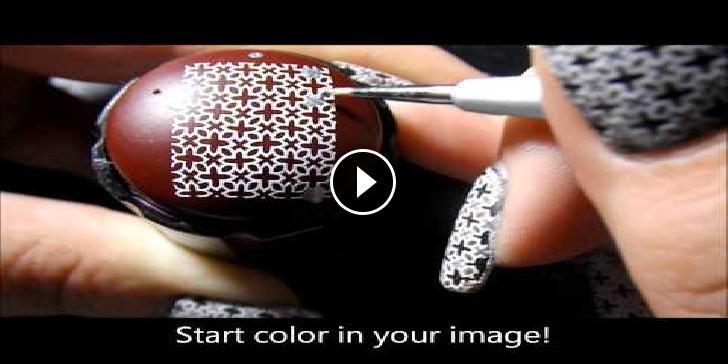 Nail Art-Tecniche avanzate per le decorazioni