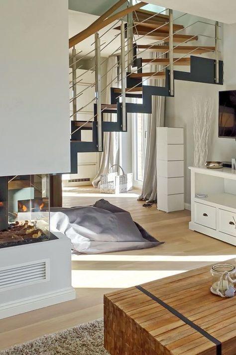 Kuscheln am Kamin und ausgedehnte Saunagänge garantiert Ferienwohnung Wohnen und Mee(h)r, App. 1 in Westerland, Sylt