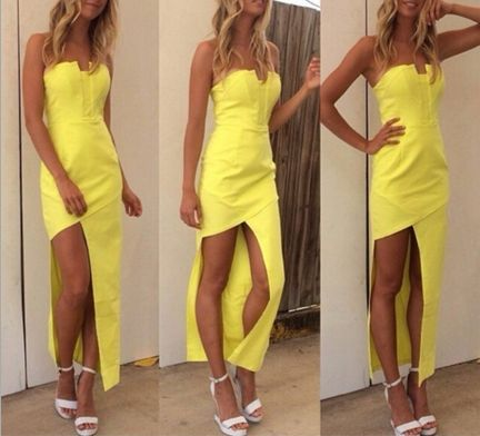 Fashion Chiffon Sleeveless Dress #ER112814
