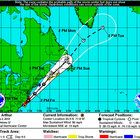 The center of Hurricane Arthur, with top winds of 90 mph, was approaching the coastal border of South and North Carolina on Thursday afternoon, andNational Hurricane Center forecasters warned their predicted path now shows the storm making landfall in eastern...