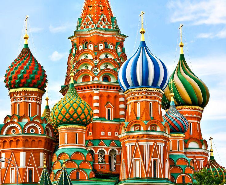 Russian Architecture so colorful!