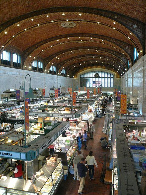 Didn't get here often enough  Westside Market, Cleveland, Ohio.. Amazing International Market .. downtown Cleveland ... ;o)