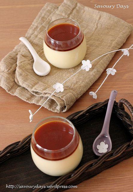 Japanese Creme Caramel - Purin ♥ Dessert