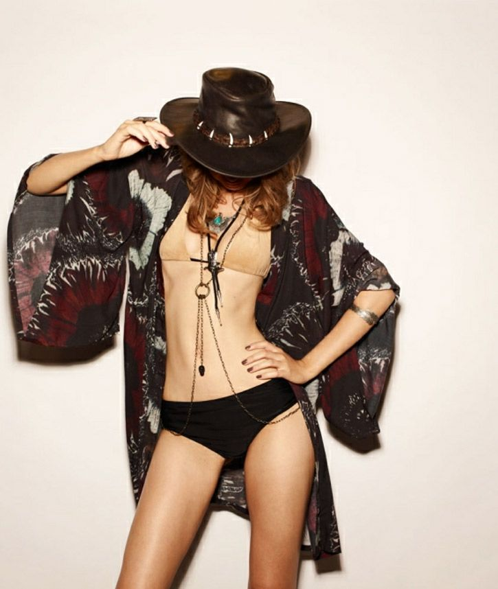 Australian #Fashion By One Teaspoon Showcases Rocker Chic #Swimsuits
