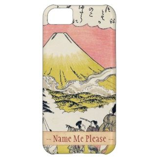 The Syllable He Passing Mount Fuji japanese art Case For iPhone 5C #Syllable #He #Passing #Mountain #Fuji #Katsukawa #Shunsho #japanese #art #oriental #customizable #gifts #accessories #Japan #ukiyo-e #Asia #custom #name #gift #ink #vintage #scroll #tales #legend