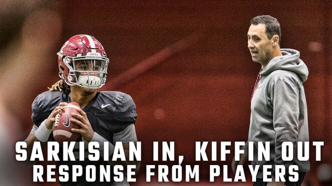 How Tide is reacting to Steve Sarkisian's new role after Kiffin's exit
