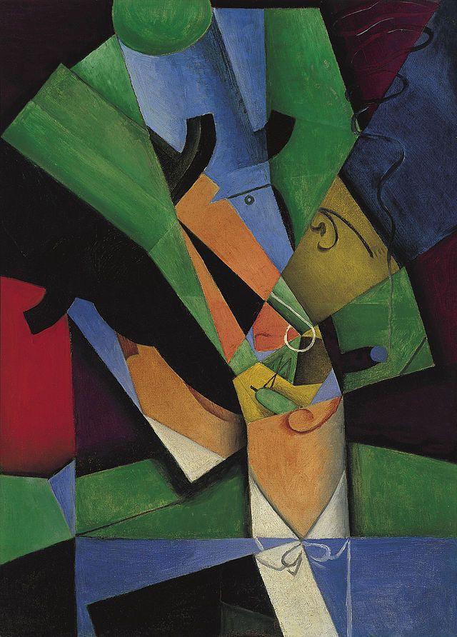 El fumador (Frank Haviland), 1913 by Juan Gris