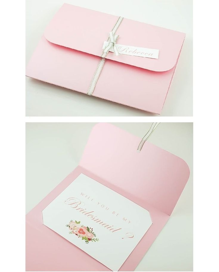 Delight your Bridesmaids with beautiful invitationsproposal