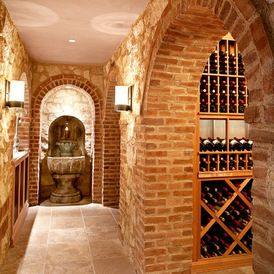 Mediterranean Wine Cellar by Omega Products Intl
