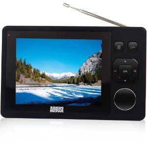 August DTV310 3.5'' Pocket Digital Freeview TV and Digital Radio with Built-in Rechargeable Battery for up to 5 Hours Play back and reception at motorway speeds  has been published on  http://flat-screen-television.co.uk/tvs-audio-video/televisions/portable-tvs/august-dtv310-353939-pocket-digital-freeview-tv-and-digital-radio-with-builtin-rechargeable-battery-for-up-to-5-hours-play-back-and-reception-at-motorway-speeds-couk/