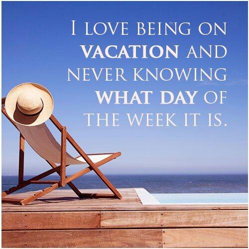 Vakantie!