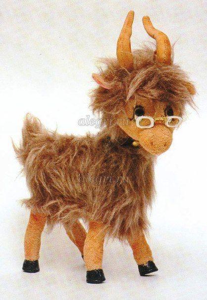 Free Diy Toy Pattern Goat Goat Stuffed Animal Goat Toys