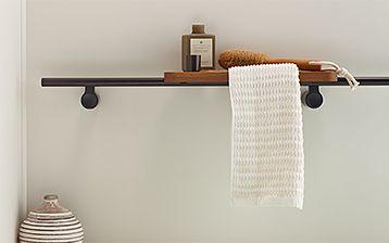 storage with bathroom kohler design shower accent tile shelf in corner shelves for traditional
