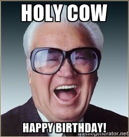 harry caray chicago cubs - Holy Cow Happy Birthday!