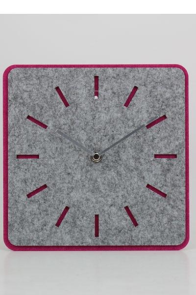 felt material wall clock
