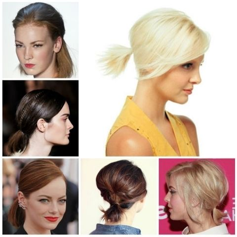 Best 25+ Short ponytail ideas on Pinterest | Short ...