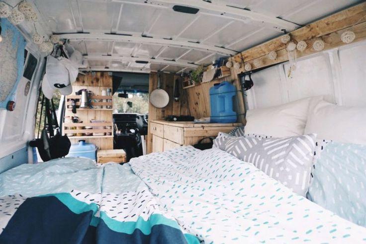 Great van remodel for just me.